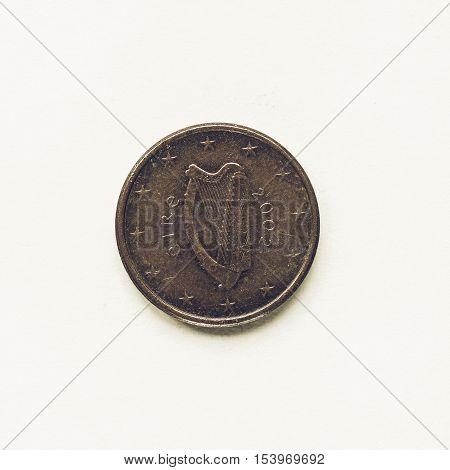 Vintage Irish 1 Cent Coin