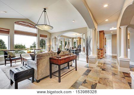 Studio Interior In Luxurious House