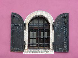 Old lattice window in Mostar Bosnia and Herzegovina.
