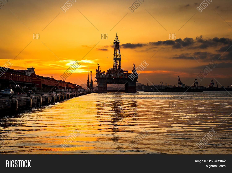 Silhouette Oil Image & Photo (Free Trial)   Bigstock