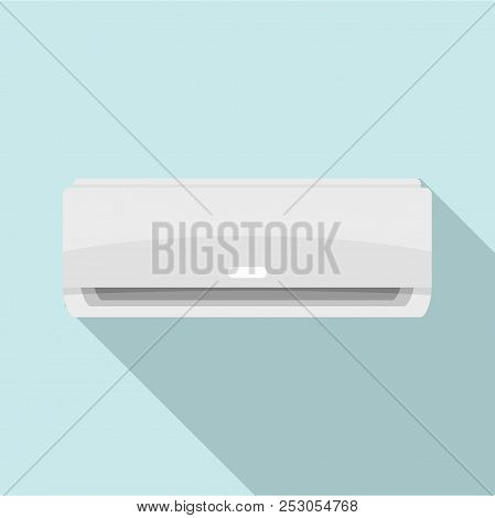 Commercial Conditioner Icon. Flat Illustration Of Commercial Conditioner Icon For Web Design