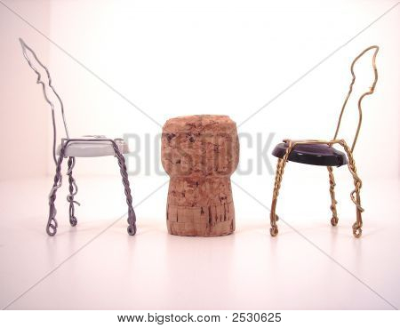Cork Table And Chairs