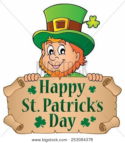 Happy St Patricks Day Theme 4 - Eps10 Vector Picture Illustration.