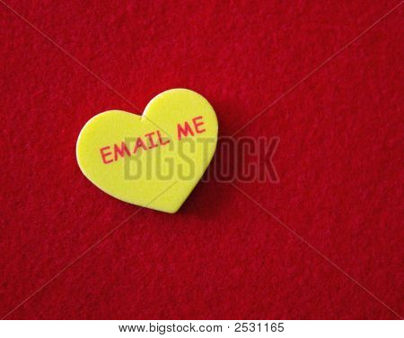 Conversation Heart - Email Me