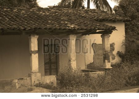 Old House In Mexico
