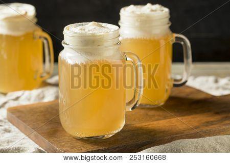 Sweet Homemade Butterscotch Butter Beer