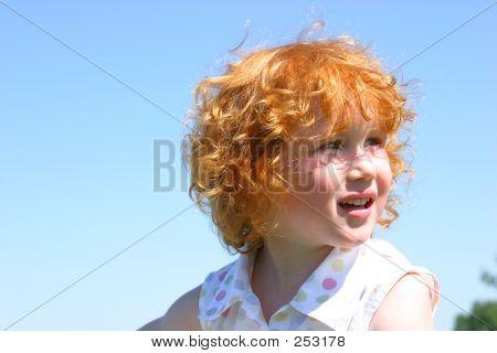 Happy Redhead