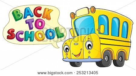Back To School Topic 9 - Eps10 Vector Picture Illustration.