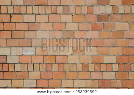 A Background Image Of Bricks In Varying Sizes