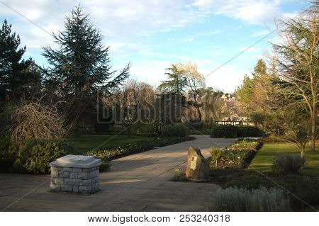May 2nd 2018 - Moray, Scotland: Biblical Garden In Elgin, Featuring Plants That Appear In The Bible.