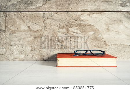 Desk, Book, Table, Glasses, Paper, Education, School, Study, Textbook, Business, Office, Read, Noteb