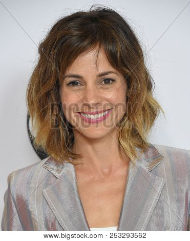 LOS ANGELES - AUG 07:  Stephanie Szostak arrives to the ABC TCA Summer Press Tour White Carpet Event  on August 7, 2018 in Hollywood, CA