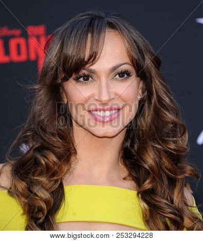 LOS ANGELES - JUN 22:  Karina Smirnoff arrives to the 'The Lone Ranger' Hollywood Premiere  on June 22, 2013 in Hollywood, CA
