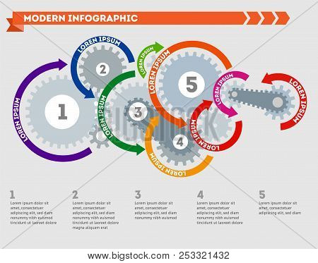 Infographic. Modern Infographic. Illustration Of Modern Infographics. Illustration Of Modern Infogra
