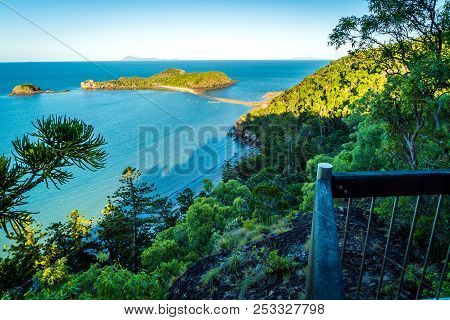 Cape Hillsborough National Park, Australia, View From Twin Beaches Lookout