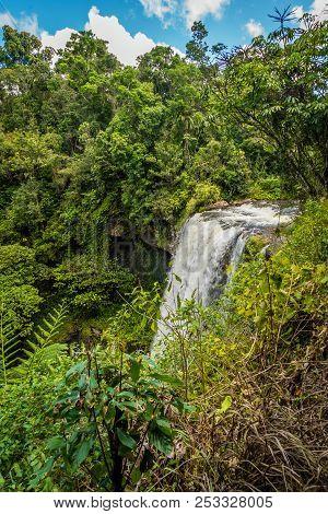 Zillie Falls In The Summer In Queensland, Australia