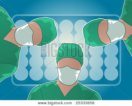 Operating room surgery