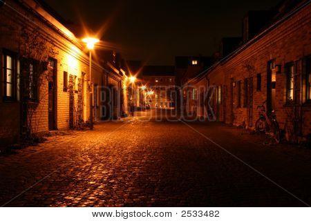 kleine Stadtstraße