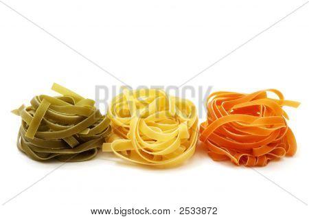 Tricolor Pasta Tagliatelle