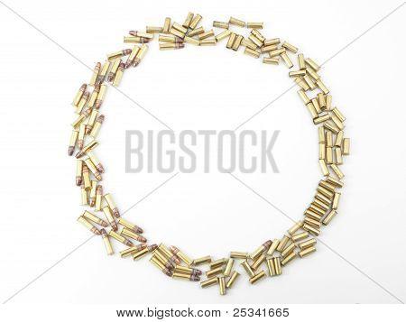 Ammunition Bullets and Empty Shells
