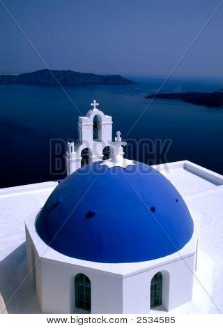 Church Santorini, Greece