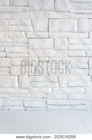 Wall Of  Bricks  Background