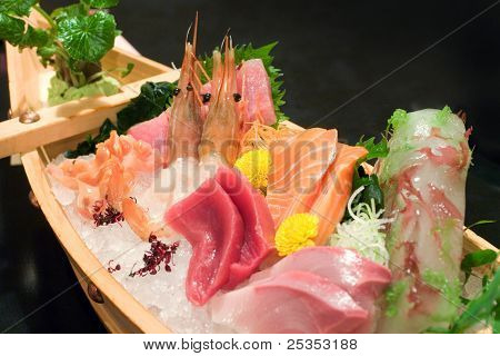 Assorted Sashimi Boat
