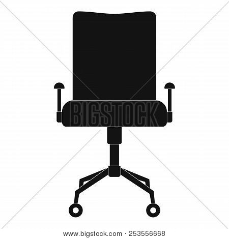 Leather Chair Icon. Simple Illustration Of Leather Chair  Icon For Web.
