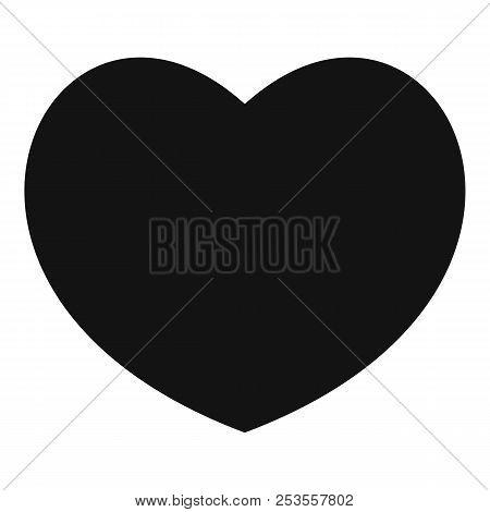 Sympathetic Heart Icon. Simple Illustration Of Sympathetic Heart  Icon For Web.