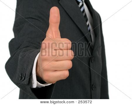 Man's Hand With Thumb Up