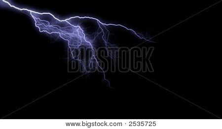 Blue/White Lightning
