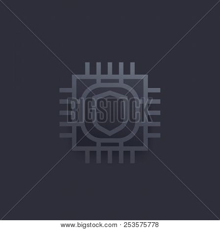 Cryptography Vector Icon, Eps 10 File, Easy To Edit