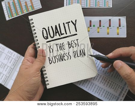 Inspirational quotes on quality and business plan