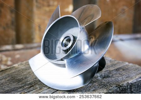Steel Boat Propeller
