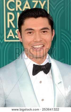 LOS ANGELES - AUG 7:  Henry Golding at the
