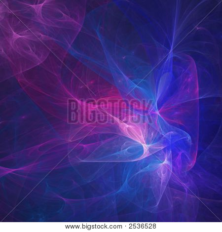 Blue Pink Chaos Rays