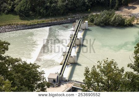 Dam Seen From Above