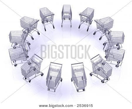 Shopping Cart 3D