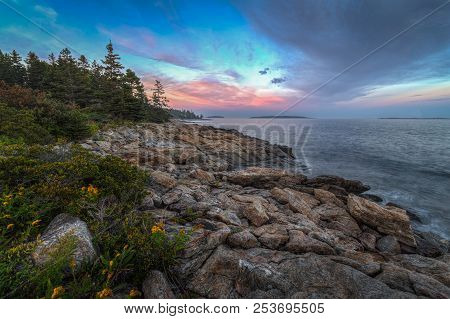 Maine Coastline - Port Clyde, Maine, Usa