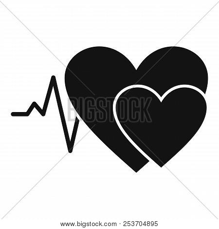 Cardiology Icon. Simple Illustration Of Cardiology Icon For Web