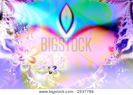Colorful abstract illustration of a digital background poster