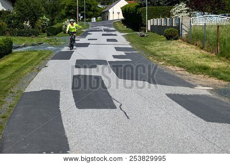 many repaired road in a community