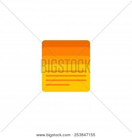 Task List Icon Flat Element. Vector Illustration Of Task List Icon Flat Isolated On Clean Background
