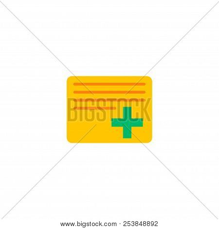Add Task Icon Flat Element. Vector Illustration Of Add Task Icon Flat Isolated On Clean Background F