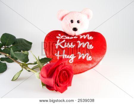 Rose Heart And Bear