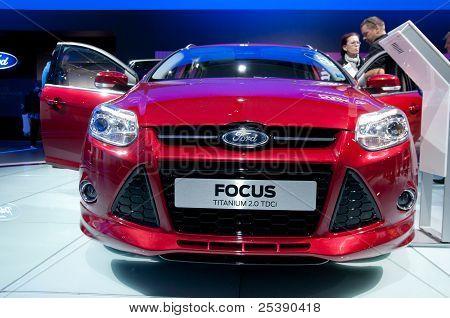 Ford Focus Titanium 2.0 Tdci