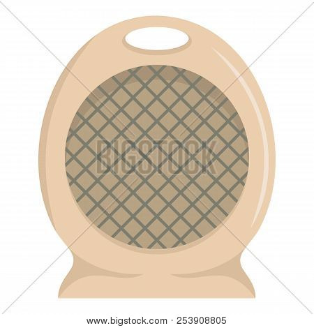 Portable Fan Icon. Flat Illustration Of Portable Fan Icon For Web
