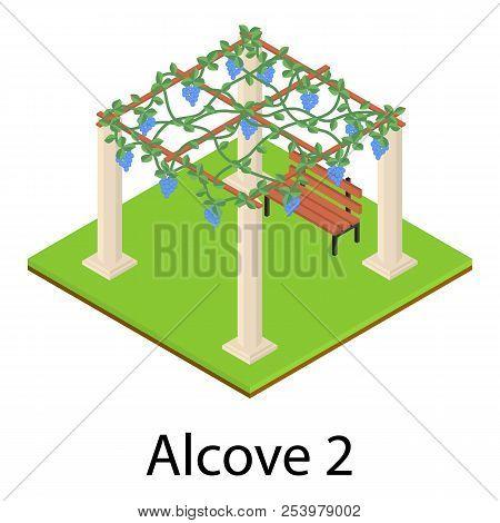 Alcove Icon. Isometric Illustration Of Alcove Icon For Web