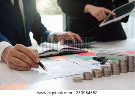 Close Up Business Man Reaching Out Sheet With Contract Agreement Proposing To Sign.insurance Agent A