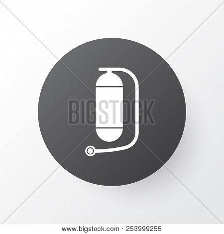 Oxygen Cylinder Icon Image Photo Free Trial Bigstock